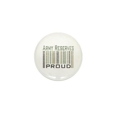 Military Army Reserves Proud Mini Button