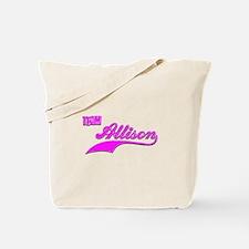 Team Allison Tote Bag