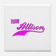 Team Allison Tile Coaster