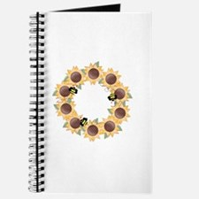 Sunflower Wreath Ring Journal
