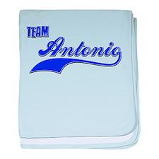 Team Antonio baby blanket
