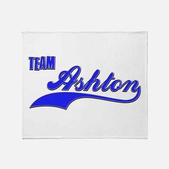 Team Ashton Throw Blanket