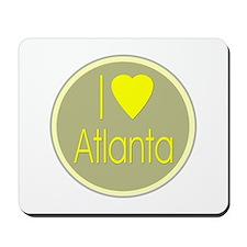 I Love Atlanta Mousepad