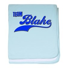 Team Blake baby blanket