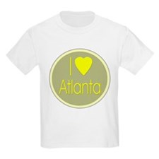 I Love Atlanta Kids T-Shirt