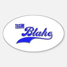 Team Blake Sticker (Oval)