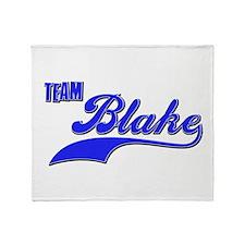 Team Blake Throw Blanket