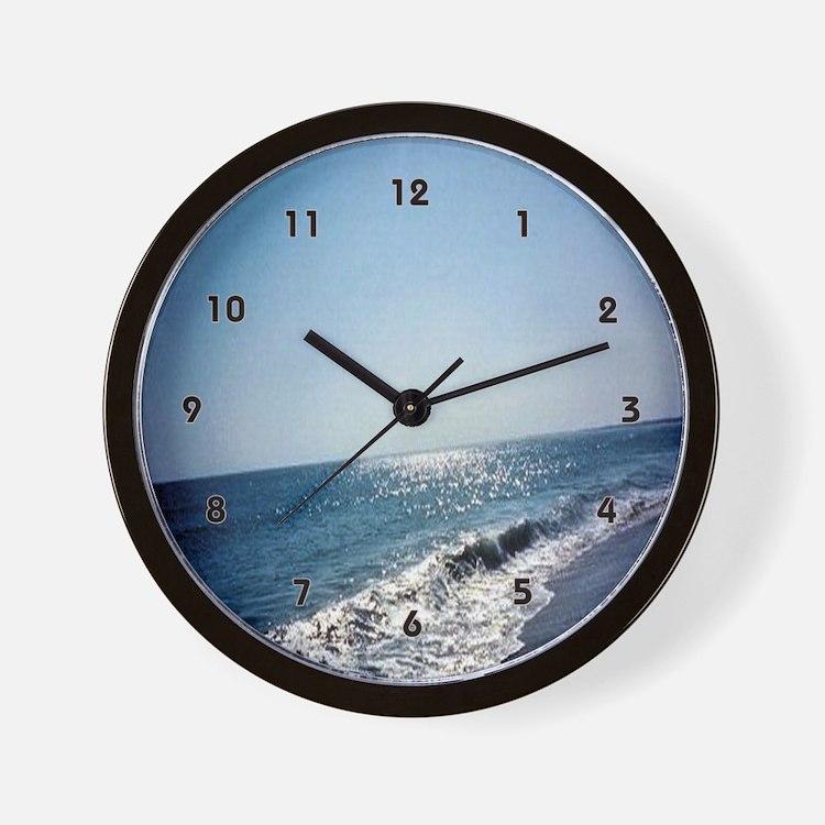 beach house decor clocks beach house decor wall clocks large modern kitchen clocks. Black Bedroom Furniture Sets. Home Design Ideas