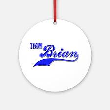 Team Brian Ornament (Round)