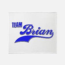 Team Brian Throw Blanket
