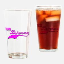 Team Briannna Drinking Glass