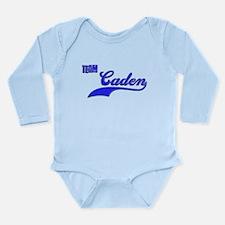 Team Caden Long Sleeve Infant Bodysuit