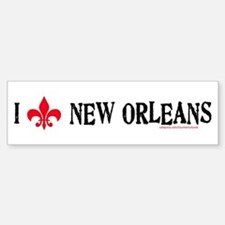 Love New Orleans! Bumper Bumper Bumper Sticker