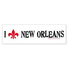 Love New Orleans! Bumper Bumper Sticker