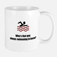 Swimming In Bacon Mug