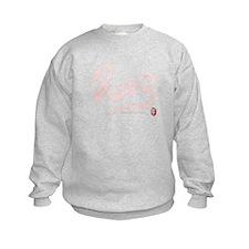 Pink Year of the Snake 2013 Calligraphy Sweatshirt