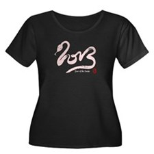 Pink Year of the Snake 2013 Calligraphy T