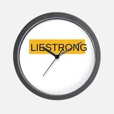 LIESTRONG Wall Clock