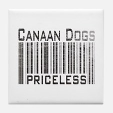 Canaan Dogs Owner Dog Lover Tile Coaster