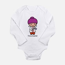Cute Future scientist Long Sleeve Infant Bodysuit