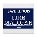 Fire Madigan Tile Coaster
