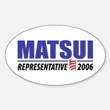 Matsui 2006 Oval Decal