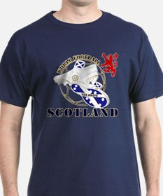Scotland World Football Design T-Shirt