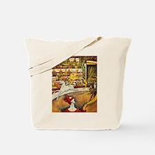 Georges Seurat Circus Tote Bag