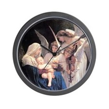 Bouguereau Song Of The Angels Wall Clock