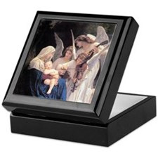 Bouguereau Song Of The Angels Keepsake Box