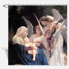 Bouguereau Song Of The Angels Shower Curtain