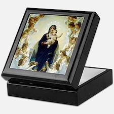 Bouguereau The Virgin With Angels Keepsake Box