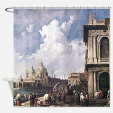 Canaletto Piazza in Venice Shower Curtain