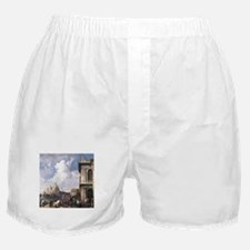 Canaletto Piazza in Venice Boxer Shorts