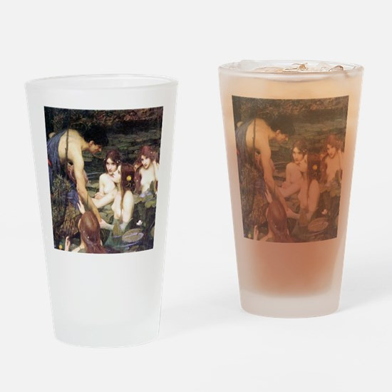 Waterhouse Hylas and the Nymphs Drinking Glass