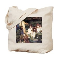 Waterhouse Hylas and the Nymphs Tote Bag