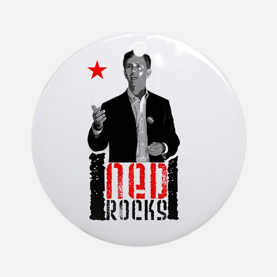 Ned Rocks Ornament (Round)