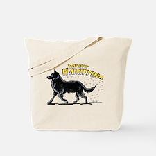 Belgian Sheepdog Hairifying Tote Bag