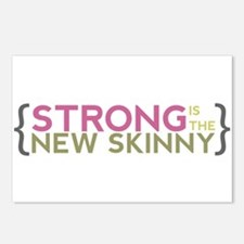 Strong is the New Skinny Parenthetical Postcards (
