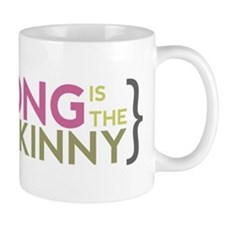 Strong is the New Skinny Parenthetical Mug