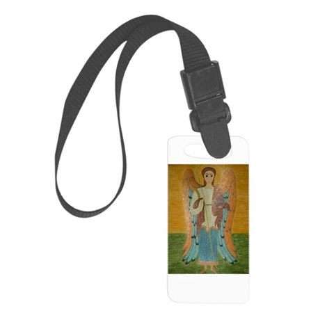 Saint Michael Small Luggage Tag