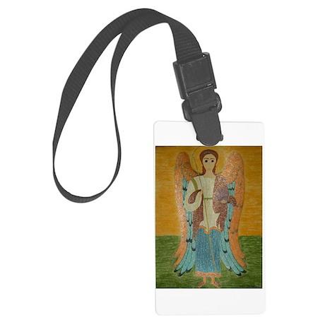 Saint Michael Large Luggage Tag