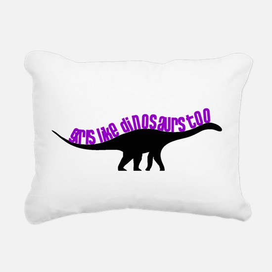 Girls Like Dinosaurs Too - Diplodocus Rectangular