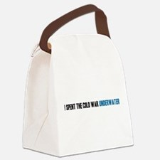 I spent the Cold War underwater Canvas Lunch Bag