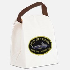 Cold War Patrol Patch Canvas Lunch Bag