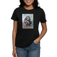 Chimpanzee! Wildlife art! Tee