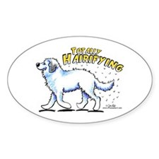 Great Pyrenees Hairifying Decal