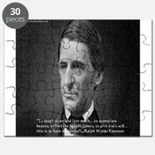 Ralph Waldo Emerson Wisdom/Success Quote Gifts Puz