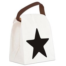 Simplicity Star Canvas Lunch Bag