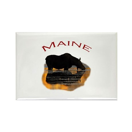 Maine Rectangle Magnet